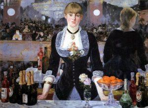 ادوارد مانه، بار فولی برژر، ۱۸۸۲، رنگ روغن روی بوم، ۹۶x130 سانتی متر، انستیتو کورتولد، لندن