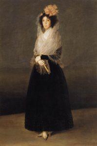 لامارکسا دلا سولانا ۱۷۹۵، رنگ روغن روی بوم، ۱۸۳x124 سانتی متر، موزه لور پاریس