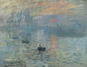 کلود مونه، طلوع آفتاب 1872
