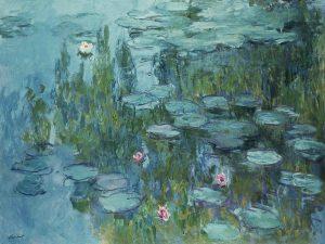 نیلوفرهای آبی، خانه هنرمند 1915